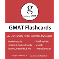 Manhattan GMAT Flashcards (Manhattan Prep GMAT Strategy Guides) (English Edition)