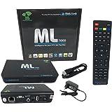 Medialink 7000 IPTV SET TOP BOX Multimedia Player Internet TV IP Receiver + M@tec HDMI Kabel