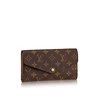 Louis Vuitton Monogram lienzo Sarah Cartera m60531: Amazon.es: Zapatos y complementos
