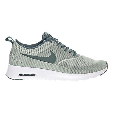 Nike Air Max Thea TXT Women's Shoes Light Silver/Hasta/White 819639-002