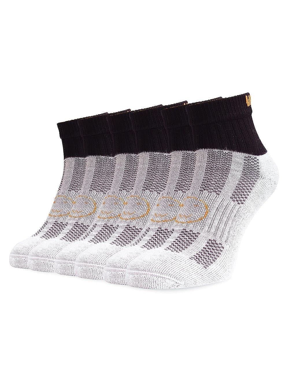 WackySox Three Pairs Supersaver Ankle Running Sports Socks Black