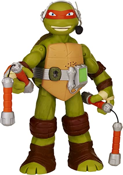 Amazon Com Teenage Mutant Ninja Turtles 11 Michelangelo Infrared