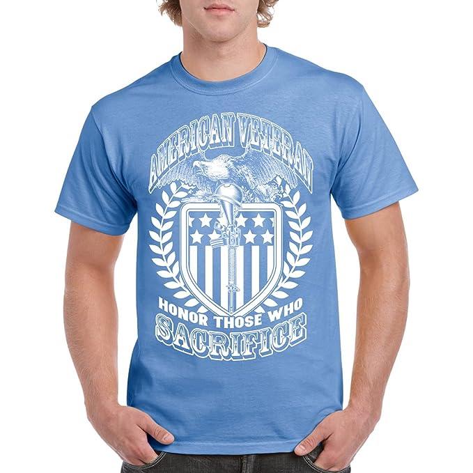 3db8152b391 Long Beach Apparel American Veteran Sacrifice Flag Men s Tee Shirt 100%  Cotton T-Shirt