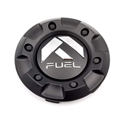 Fuel Matte Black Custom Wheel Center Cap ONE (1) M-447, 1001-58: Automotive