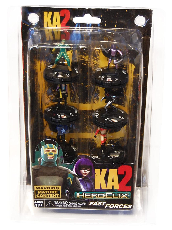 Amazon.com: Kick-ass 2 Heroclix Fast Forces Mini-figure 6-pack: Toys & Games