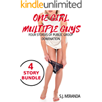 One Girl, Multiple Guys: Four Stories of Public Group Domination