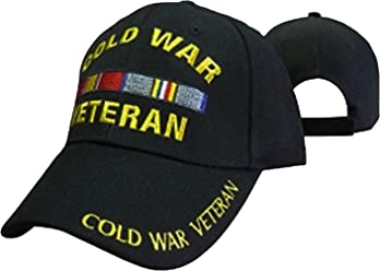 9edb70f323046b Buy Caps and Hats Cold War Veteran Cap Black Embroidered Hat with Ribbons  Army Air Force