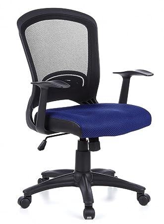 HJH Office FLYER 10 Silla de oficina Azul 44 x 58 x 108 cm