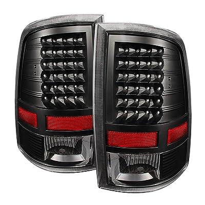 Xtune ALT-JH-DR09-LED-BK Dodge Ram LED Tail Light: Automotive