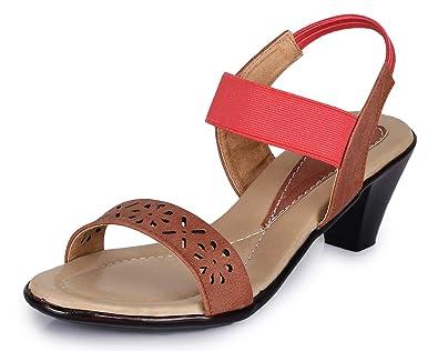 Trase Womens Tan Synthetic Fashion Sandal 3
