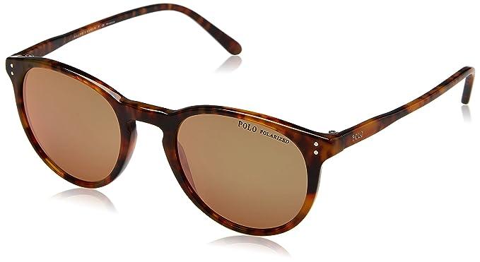 Ralph Lauren Polo 0PH4110, Gafas de Sol para Hombre, Shiny Jerry Tortoise, 50