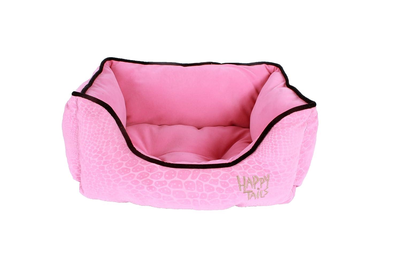 Happy Tails Designer Lizard Cuddler Bed, 17-Inch by 21-Inc