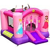 Happy Hop Princess Slide and Hoop Bouncer