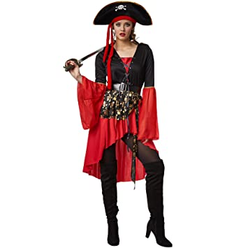 dressforfun Disfraz para mujer reina pirata | Vestido de estilo ...
