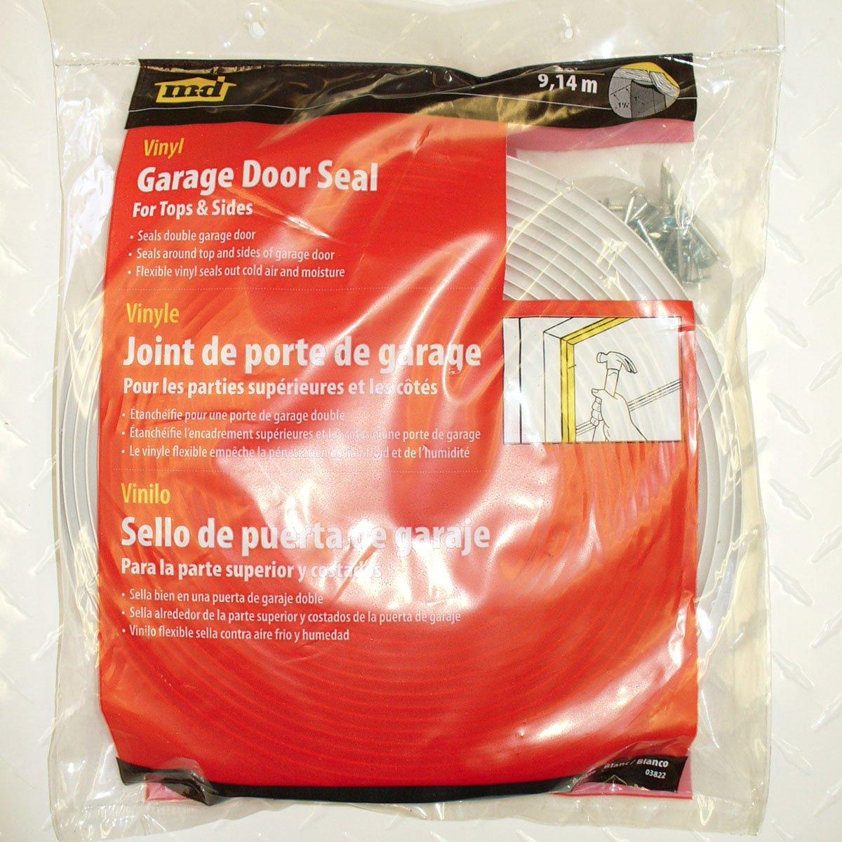 Amazon M D Building Products 3822 Vinyl Garage Door Top And