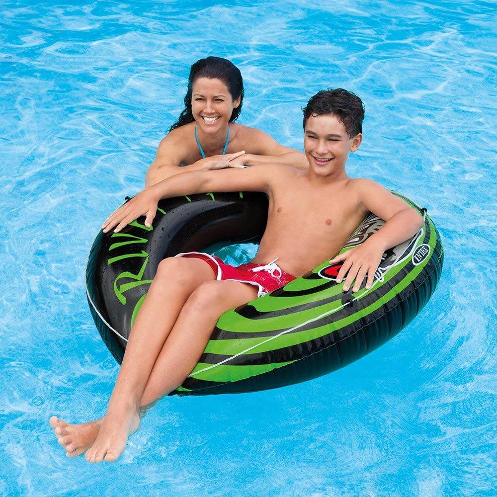 4-Pack Intex River Rat 48-Inch Inflatable Tubes For Lake/Pool/River | 4 x 68209E by Intex
