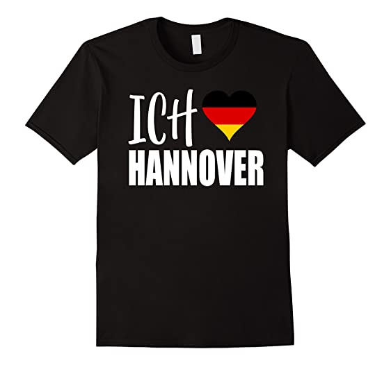 Liebe Hannover amazon com klamottenpott ich liebe hannover german flag t shirt