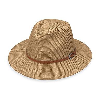 830c783fc5f8d0 Wallaroo Hat Company Women's Naples Fedora - UPF 50+, Colorful, Designed in  Australia, Black at Amazon Women's Clothing store: