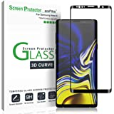 amFilm Glass Screen Protector for Samsung Galaxy Note 9, Full Screen Coverage Screen Protector, 3D Curved Tempered Glass…