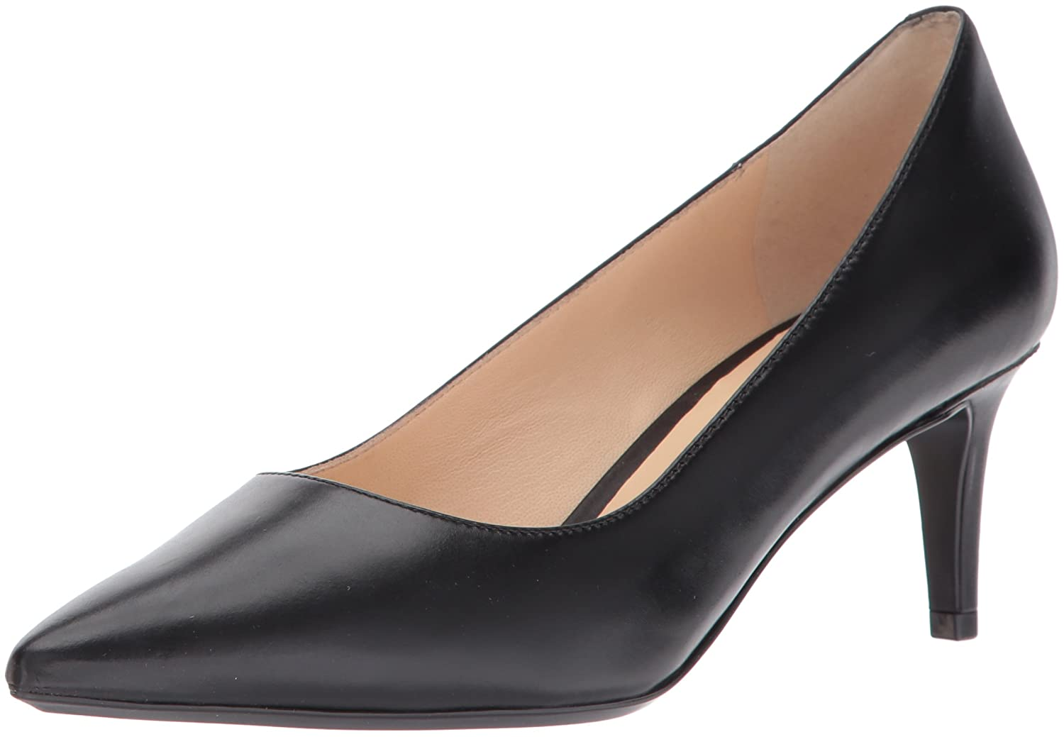 Nine West Women's SOHO9X9 Leather Pump B01MXVCEN9 11 B(M) US|Black