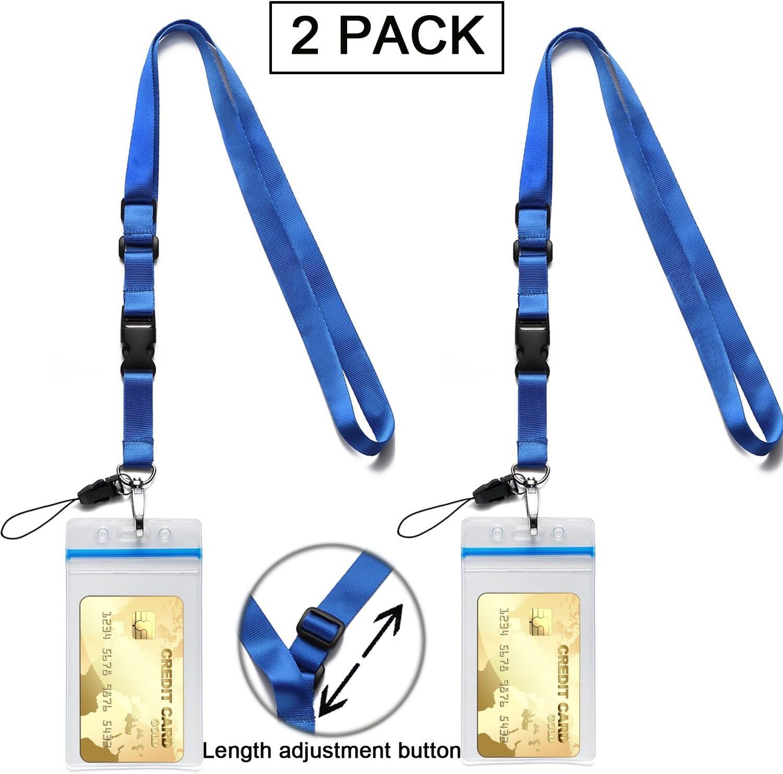 Amazon.com: ID Badge Holder con correa desmontable de ...