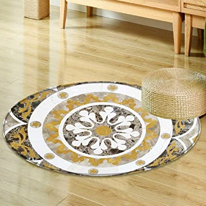 Amazon Com Small Round Rug Carpet Background Surface Of