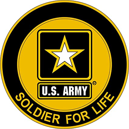 Amazoncom Military Vet Shop Us Army Soldier Life Window Bumper - Us-military-vet