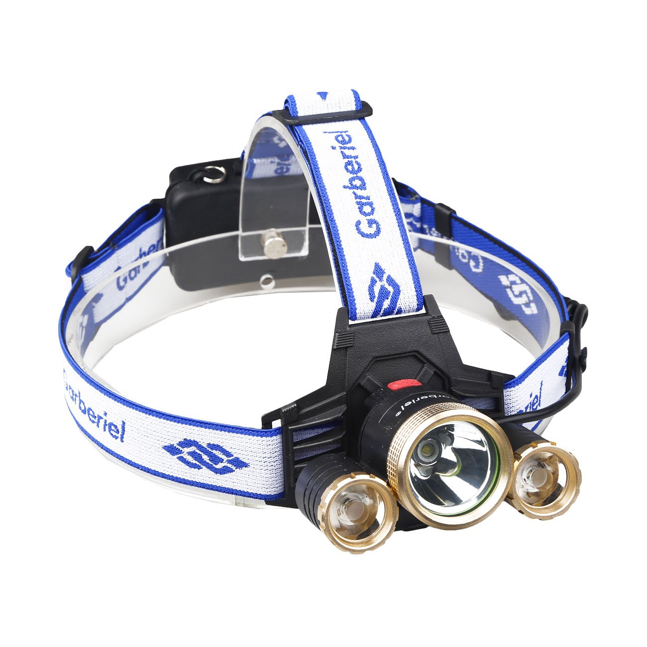 ShineTool Adjustable Rechargeable LED Headlamp 3 Modes, Zoomable and Waterproof Headlamp for Free Work, Hiking, Camping, Climbing, Running and Adventure by ShineTool (Image #5)