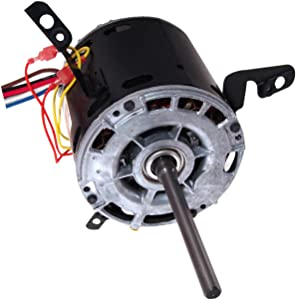 A.O. Smith 9434A 1/2 HP, 1075 RPM, 3 Speed, 277 Volts2.1 Amps, 48 Frame, Sleeve Bearing Direct Drive Blower Motor