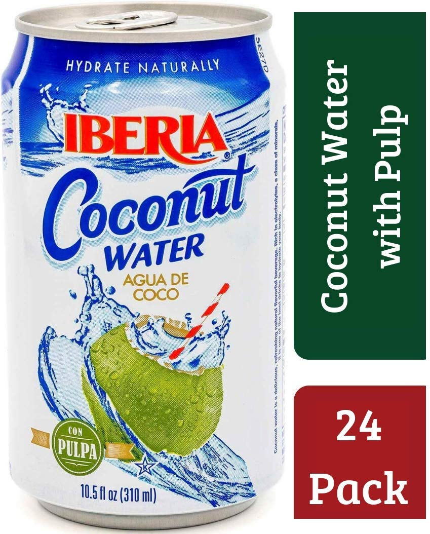 Amazon.com : Iberia Organic Coconut Milk, 13.5 oz (Pack of 12) Natural Organic Coconut Milk, Made from Ripe USDA Organic Coconuts, Use in Baking, ...