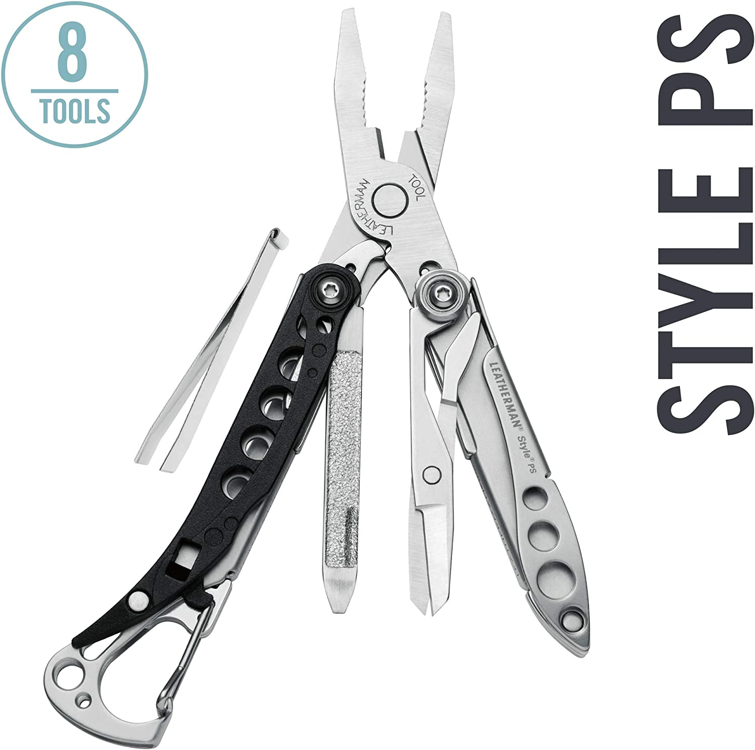 4. Leatherman Style PS 8-in-1 Keychain Multitool