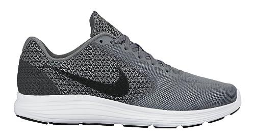 Nike Revolution 3, Zapatillas de Running para Hombre, White