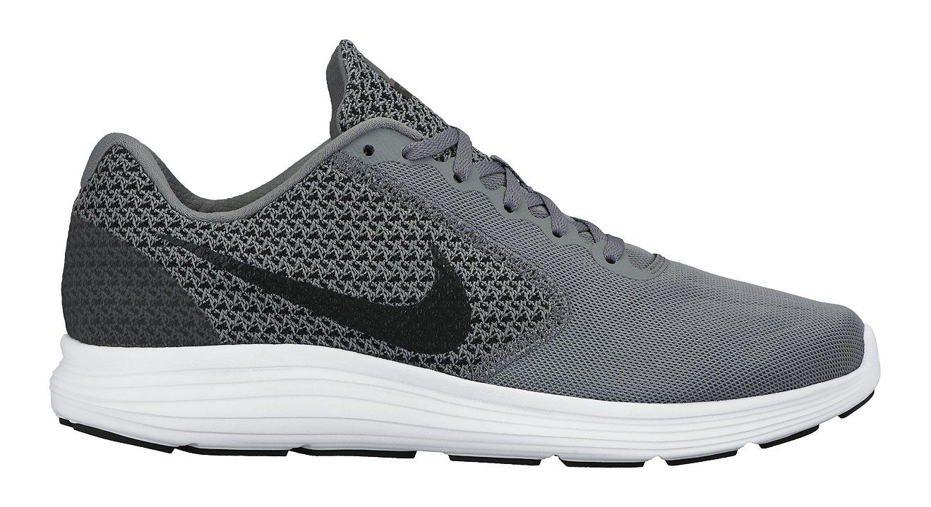 NIKE Men's Revolution 3 Running Shoe, Cool Grey/Black/White, 6 D(M) US
