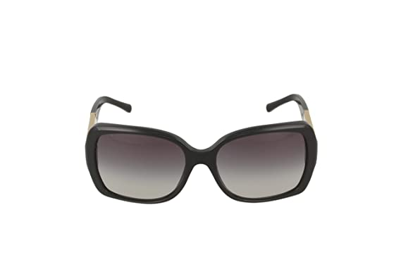 75470e3539 Amazon.com  Burberry BE4160 34338G Black BE4160 Square Sunglasses Lens  Category 3 Size 58mm  Burberry  Shoes