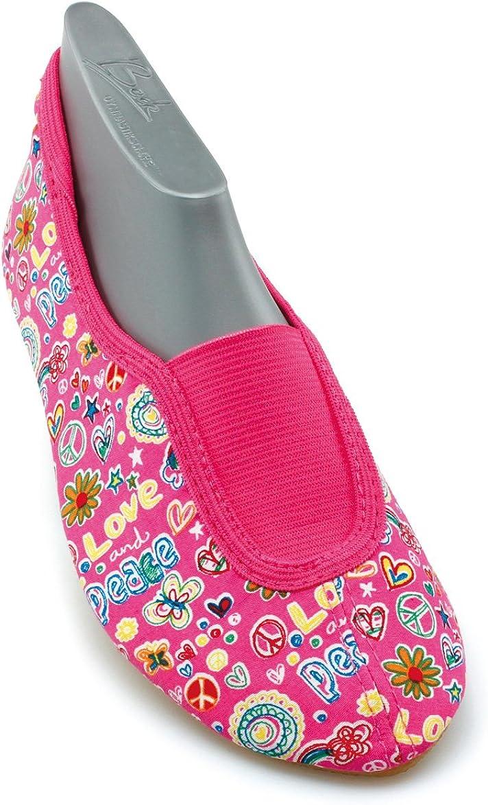 Beck Enfants de gymnastique chaussures de sport Ballet Chaussures 251 Happy pantoufles