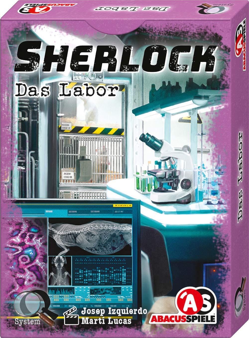 Abacusspiele 48196 Sherlock - Juego de Cartas (Contenido en alemán ...