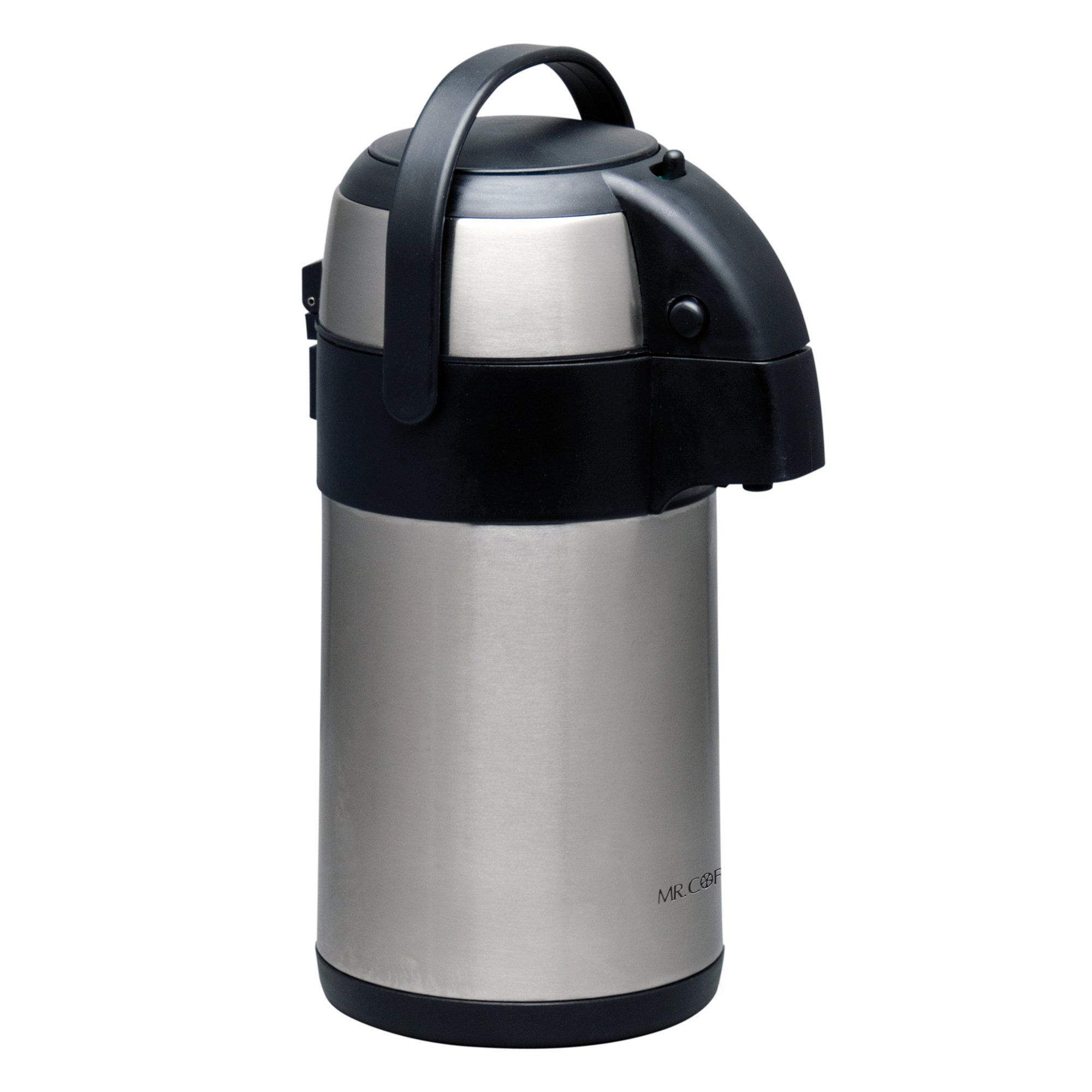 Mr Coffee 79517.01 Everflow 2.3 Quart Stainless Steel Coffee Pump Pot
