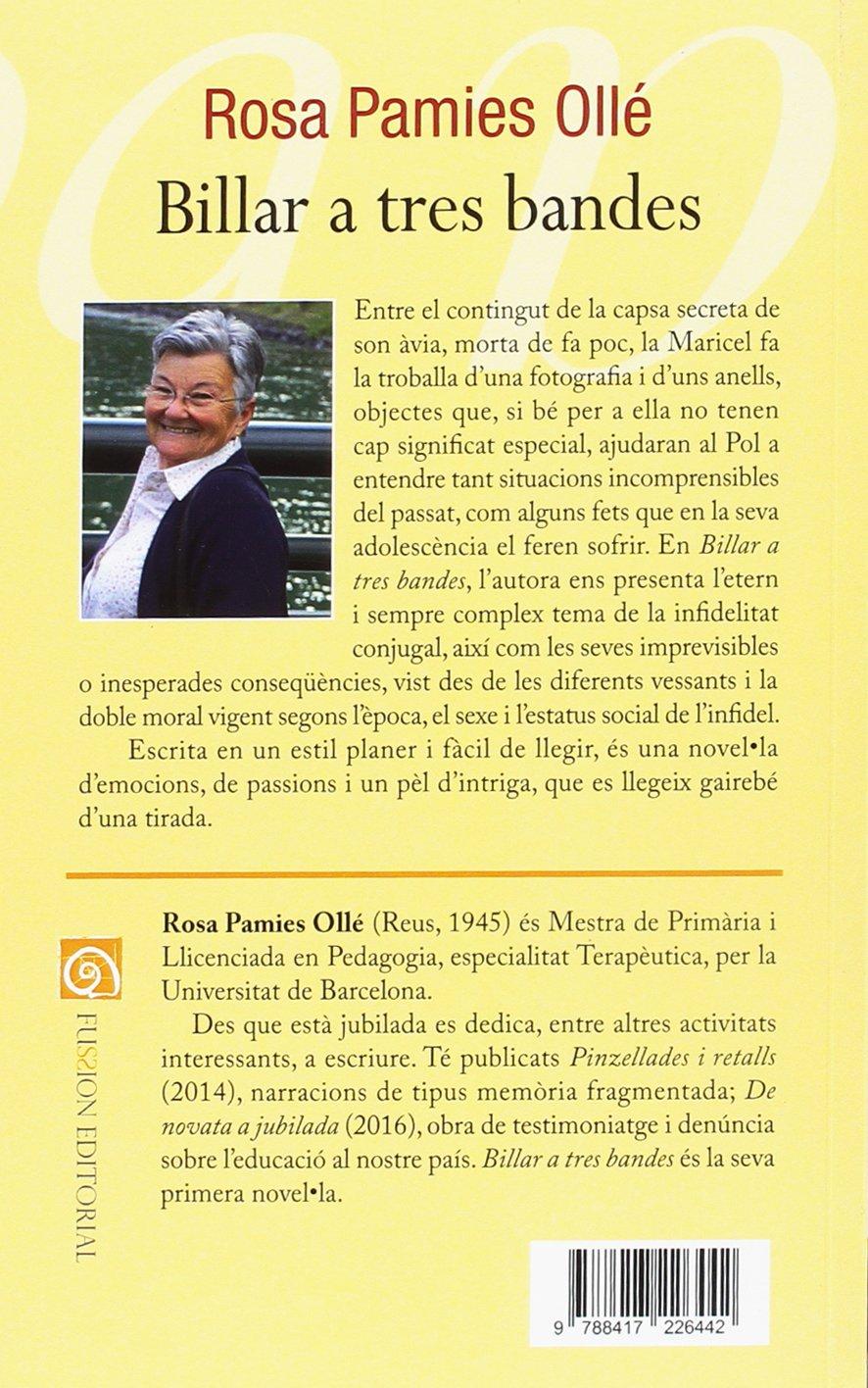 Billar a tres bandes: Amazon.es: Rosa Pamies Ollá: Libros