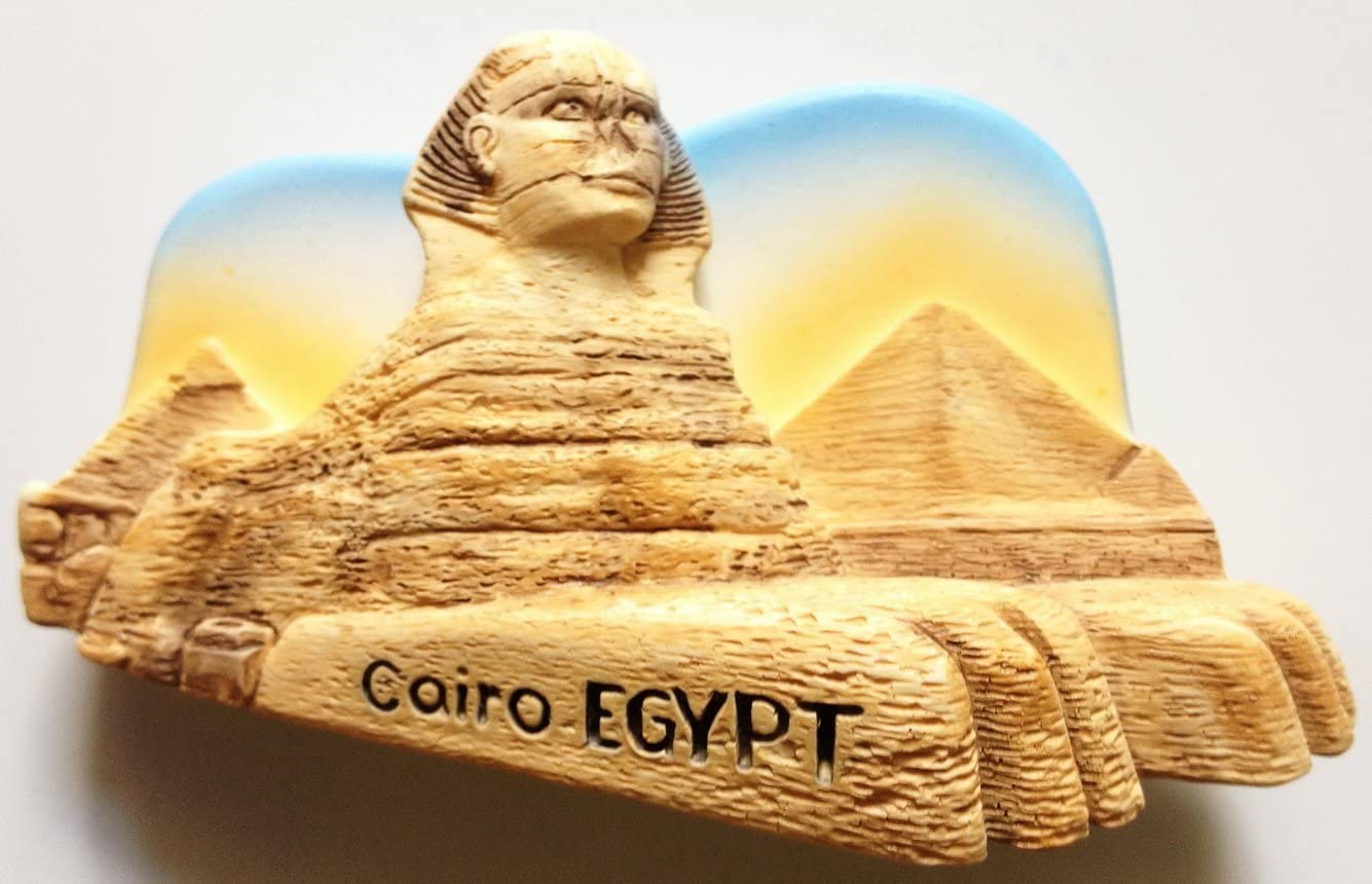Thai MCnets The Great Sphinx Cairo Egypt Resin 3D Fridge Refrigerator Thai Magnet Hand Made Craft