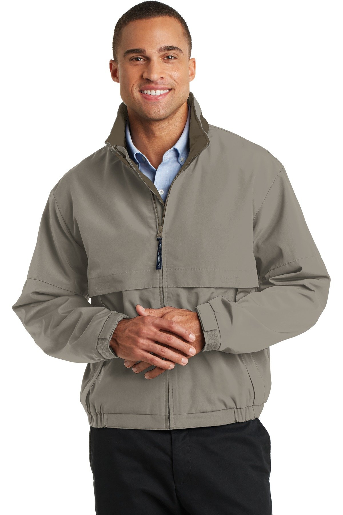 Port Authority Men's Tall Legacy Jacket LT Khaki/ Nutmeg