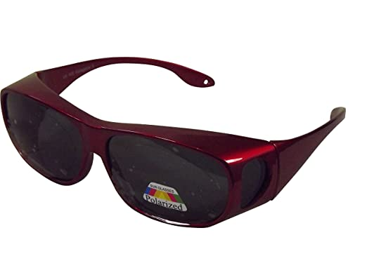 Sonnen-Überbrille UV 400 braun Polarisiert für Brillenträger Polbrille im Set PPjeNcN