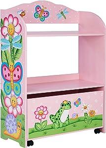 Fantasy Fields - Magic Garden Toy Organizer with Rolling Storage Box