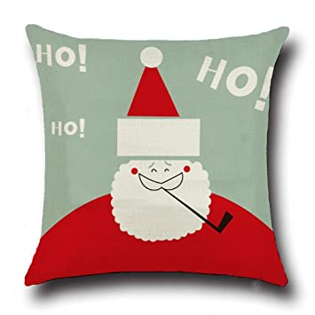 christmas pillow cover 18x18home dcor father christmas pillow covers christmas sofa car decorative square