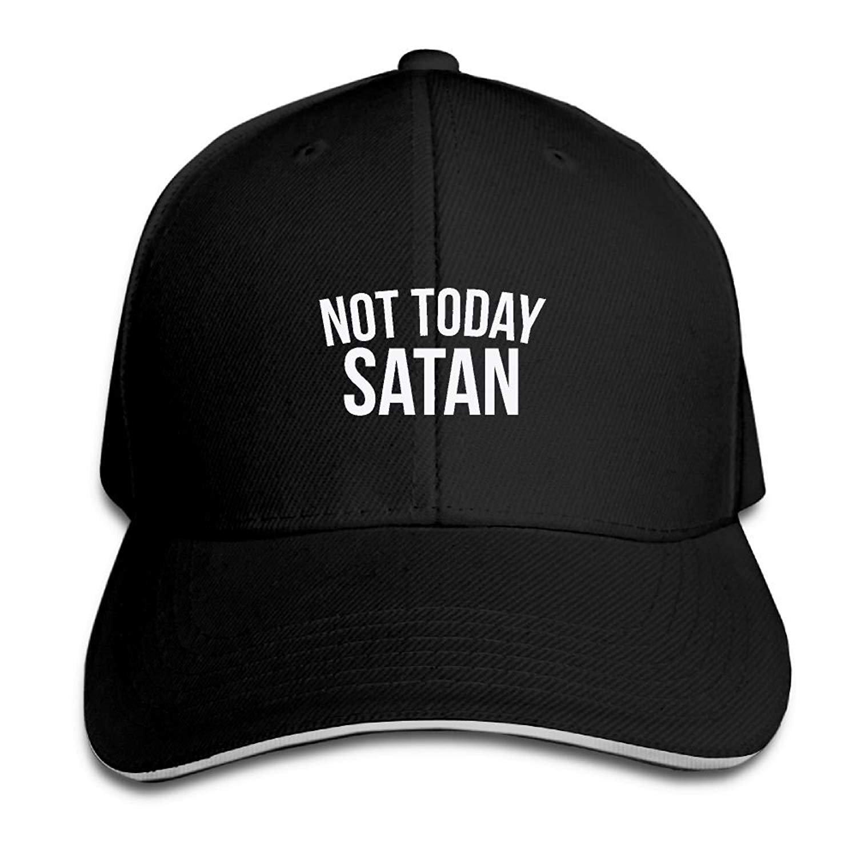 輝い ドアマットビキニメンズ&レディース染めコットン調節可能Plain BaseballキャップNot Today Satan Trucker Hat   B07FSJLGRQ, 青梅市 c27ae0c8