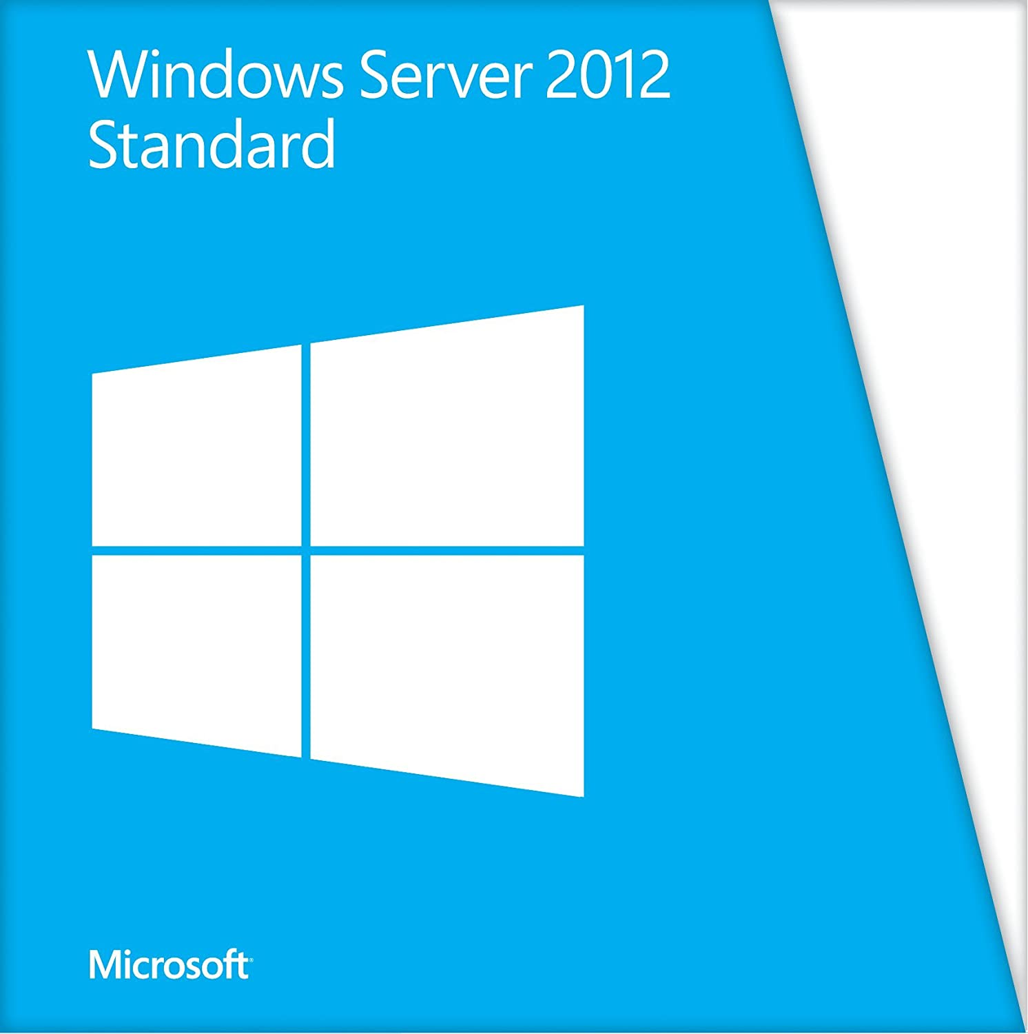 Microsoft server 2012 r2 standard 64 bit license amp dvd media - Microsoft Windows Server 2012 Standard Edition 2 Cpu 2 Virtual Machines Single Pack Pc Amazon Co Uk Software