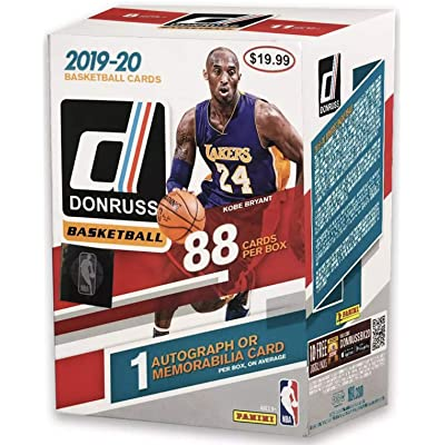 2020-20 Panini NBA Donruss Basketball Blaster Box - 88 Total Cards - 1 Autograph or Memorabilia Card per Box by Panini: Toys & Games