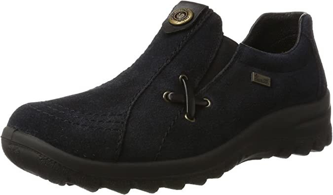 Details zu Rieker Damen Schnürschuhe Sneaker MemoSoft Leder Grau Gr 37 42
