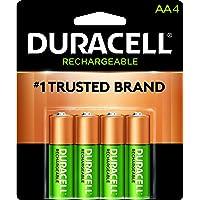 Duracell Pilas Recargable AA, 4 Cuentas