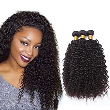 tissage cheveux humain frisé brésilien cheveux crepus bouclés cheveux  brésiliens tissage bresilien boucle meche bresilienne tissage 9718d6a9677