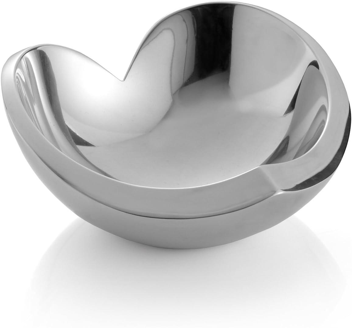 Nambe Alloy Classic Heart Bowl 8.5